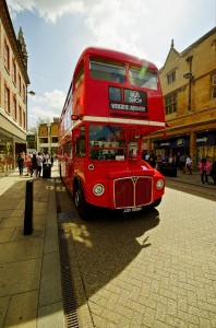 Big Red Bus - Headonist Pop Up Shop